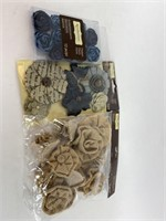 Recollections Signature Fabric Flowers Lot