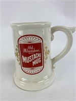 Old Milwaukee Ceramic Mustache Mug