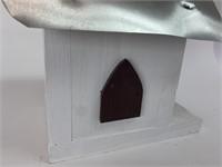 Handmade Tin Roof Birdhouse
