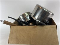 Mixed Vintage Pot and Pan Lot