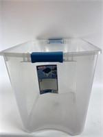 Sterile Light 26 Gallon Plastic Tote