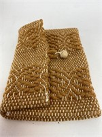 Vintage Hand Woven Clutch Purse