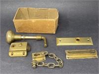 Vintage Brass Hardware Lot