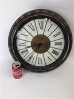 Bulova Plastic Wall Clock