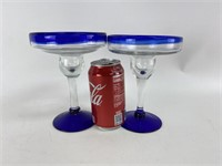 Vintage Margarita Glasses