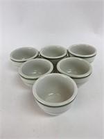 Vintage Sterling Fine China Mug Set