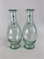 Vintage Glass Oil/Vinegar Bottles