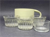 Glass Ramekin/Coffee Mug Lot