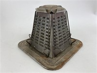 Antique Pyramid Stove Top/Campfires Toaster