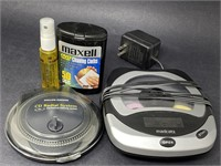 Mixed Portable CD Players W/Accessories