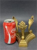 Bombay Furniture Brass Leaf Decor