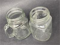 Vintage Mason Jar Mugs