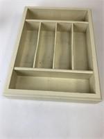 Lenox Wooden Silverware Organizer