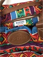 M Sport Vintage Canvas Bag