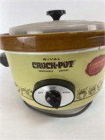 Rival Vintage Crock Pot
