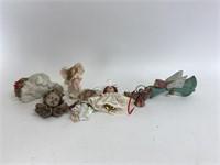 Decorative Angell Ornament/Decor Lot