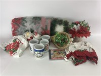 Mixed Winter Holiday Decor