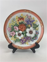 """Bouquets Of The Wold"" Decorative Plate Lot"