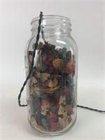 Vintage Mason Jar Decor