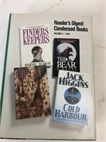4 hard cover novels