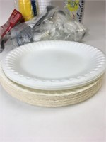 Disposable Plates, Cups, Silverware Lot