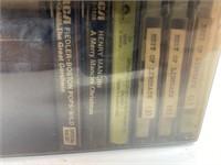 Mid-Century Modern Cassette Tape Caddy