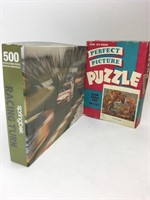 Vintage Puzzles Springbok Race Car Perfect Picture