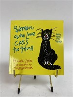 Vintage Women Who Love Cats Too Much Book