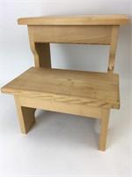 Handmade Wooden Stepstool