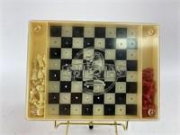 Vintage Marque Dépsée Phidias Checker Chess Game