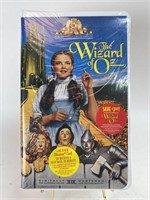 Sealed Wizard of Oz VHS Tape