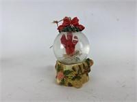 Vintage Angel Christmas Ornaments Bird Snow Globe