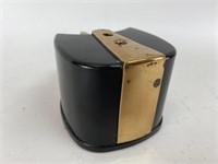 Vintage Bakelite Brass Pencil Sharpener