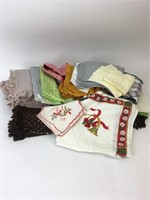 Vintage Lot of Table Top Linens