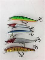 9 fishing lures
