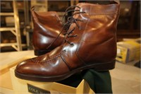 PR BROWN BALLY BOOTS SIZE 8