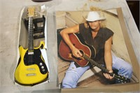 5 TINY GUITARS & PICTURE OF ALLAN JACKSON