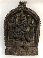 Antique Hand Carved Wooden Folk Art