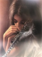 "Lee Bogle Signed Artist Proof ""Gentle Spirit"""