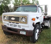 1987 Chevrolet Semi Tractor, single-axle, diesel eng
