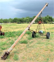 Old Grain Auger w/elec motor