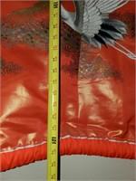 76 - BEAUTIFUL RED KIMONO ROBE WALL DECOR