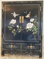 76 - BEAUTIFUL ASIAN CLOTHING ARMOIRE