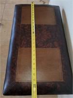 76 - BEAUTIFUL PADDED FOOT STOOL