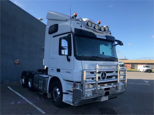 2015 Mercedes Benz Actros 2655 - Trucks for Sale