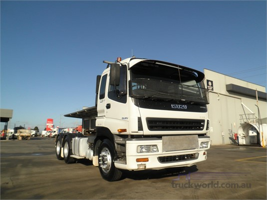 2002 Isuzu Giga CXZ - Trucks for Sale