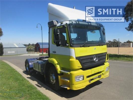 2007 Mercedes Benz Axor 1833 Smith Truck & Equipment Group  - Trucks for Sale