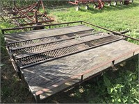 7ft x 8ft Single Axle Trailer (As Is, See Notes)