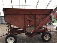 Blenheim Mfg. 150bu Gravity Wagon w/Auger