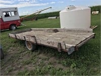 16ft x 6ft Single Axle Flatbed Trailer